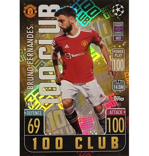Topps Champions League 2021/2022 Nr 455 Bruno Fernandes