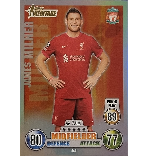 Topps Champions League 2021/2022 Nr 464 James Miller