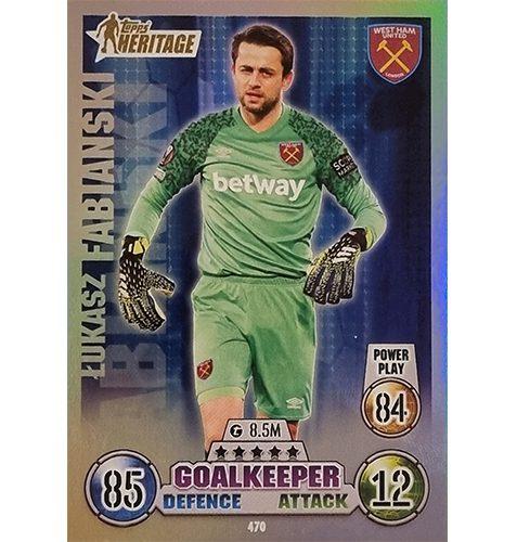 Topps Champions League 2021/2022 Nr 470 Lukasz Fabianski