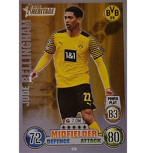 Topps Champions League 2021/2022 Nr 478 Jude Bellingham