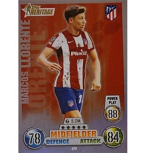 Topps Champions League 2021/2022 Nr 479 Marcus Llorente