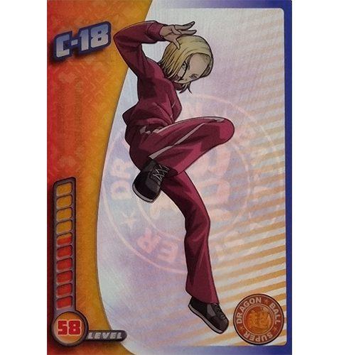 Panini Dragon Ball Super Trading Cards Nr 048 C 18