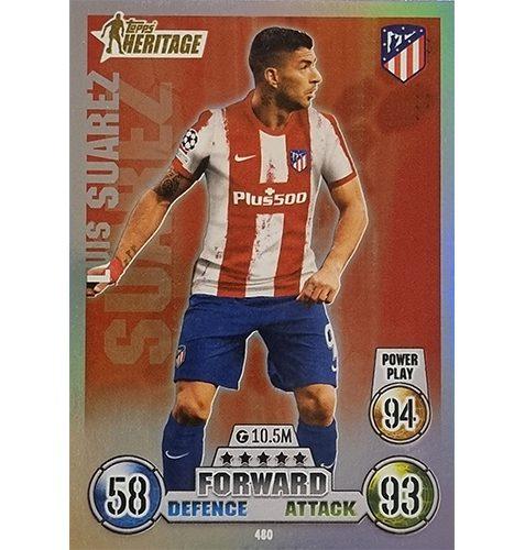 Topps Champions League 2021/2022 Nr 480 Luis Suarez