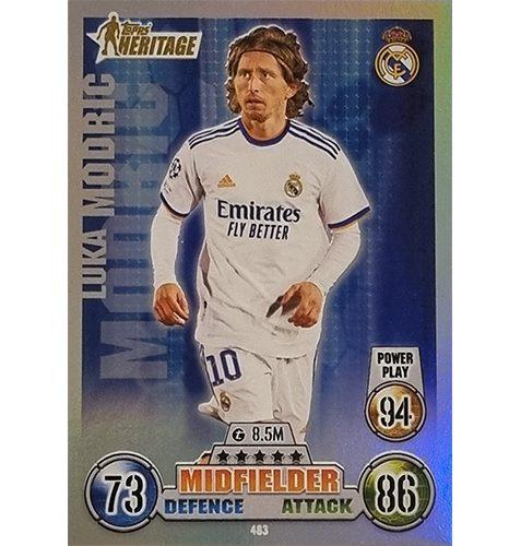 Topps Champions League 2021/2022 Nr 483 Luka Modric