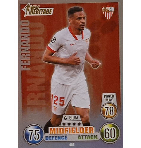 Topps Champions League 2021/2022 Nr 485 Fernando