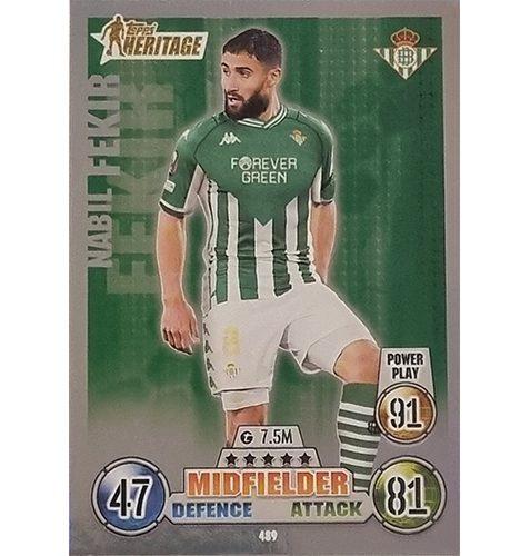 Topps Champions League 2021/2022 Nr 489 Nabil Fekir