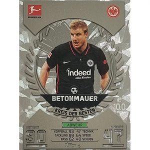 Topps Match Attax Bundesliga 2021/22 Nr 005 Martin Hinteregger
