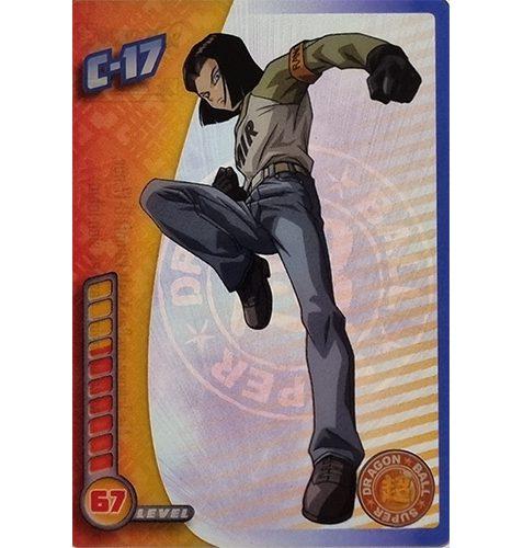 Panini Dragon Ball Super Trading Cards Nr 051 C 17