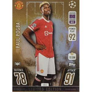 Topps Champions League 2021/2022 LE 06 Paul Pogba
