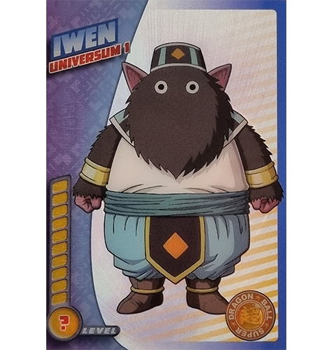 Panini Dragon Ball Super Trading Cards Nr 064 Iwen Universum 1