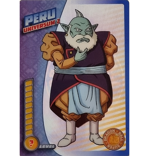 Panini Dragon Ball Super Trading Cards Nr 069 Peru Universum 2