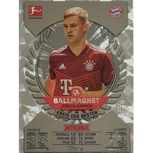 Topps Match Attax Bundesliga 2021/22 Nr 008 Joshua Kimmich