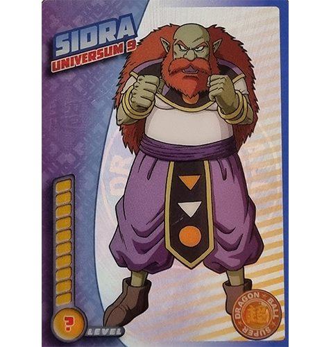 Panini Dragon Ball Super Trading Cards Nr 088 Sidra Universum 9