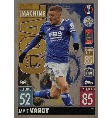 Topps Champions League 2021/2022 Nr 099 Jamie Vardy