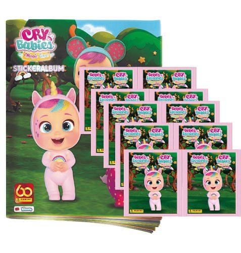 Panini Cry Babies Sticker Stickeralbum und 10x Tüten
