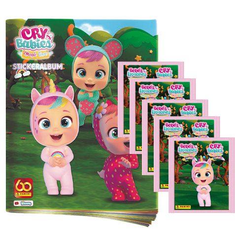 Panini Cry Babies Sticker Stickeralbum und 5x Tüten