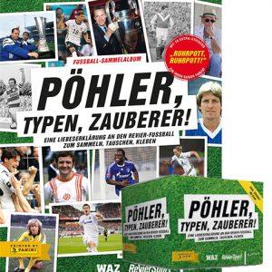 Panini Pöhler, Typen, Zauberer! Sticker Album + 1x Display