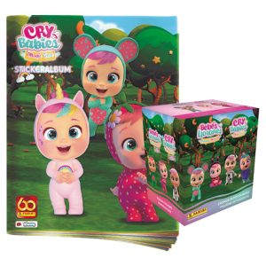Panini Cry Babies Sticker Stickeralbum und 1x Display