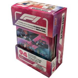 Topps Formula 1 Sticker 2021 Tin Box