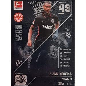 Topps Match Attax Bundesliga 2021/22 LE 13 Evan Ndicka