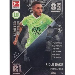 Topps Match Attax Bundesliga 2021/22 LE 3 Ridle Baku