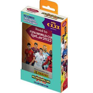 Panini Road to World Cup 2022 Qatar Adrenalyn XL - 1x Pocket Tin