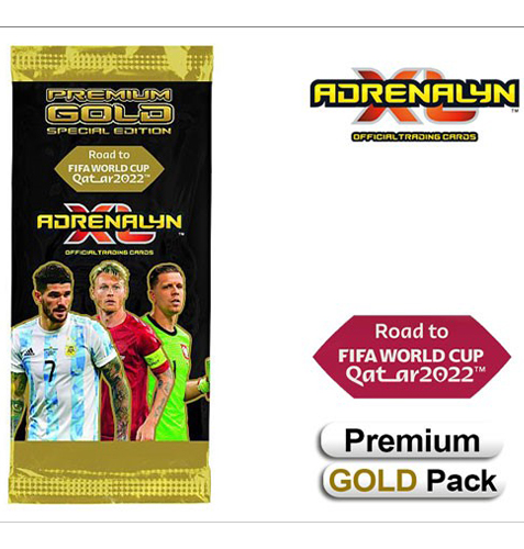 Panini Road to World Cup 2022 Qatar Adrenalyn XL - 1x Premium Gold Pack