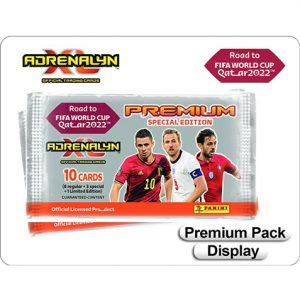 Panini Road to World Cup 2022 Qatar Adrenalyn XL - 1x Premium Pack Display