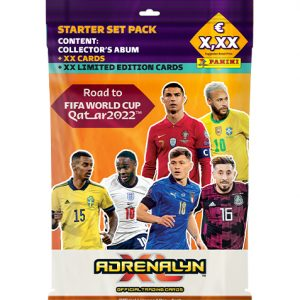 Panini Road to World Cup 2022 Qatar Adrenalyn XL - Starter Pack