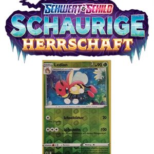 Pokémon Schaurige Herrschaft 005/198 Ledian REVERSE HOLO