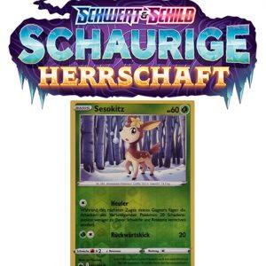 Pokémon Schaurige Herrschaft 011/198 Sesokitz REVERSE HOLO