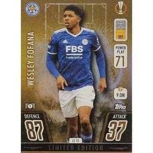 Topps Champions League 2021/2022 LE 10 Wesley Fofana