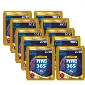 Panini FIFA 365 2022 Sticker 10x Stickertüten