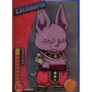 Panini Dragon Ball Super Trading Cards Nr 165 Champa Panini Dragon Ball Super Trading Cards Nr 165 Champa