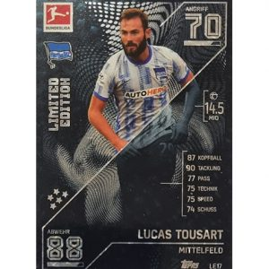Topps Match Attax Bundesliga 2021/22 LE 17 Lucas Tousart