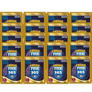 Panini FIFA 365 2022 Sticker 20x Stickertüten