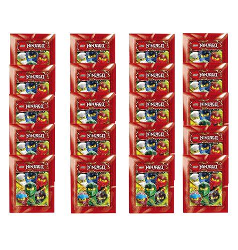 LEGO Ninjago Legacy Serie 2 Sticker 20x Stickertüten