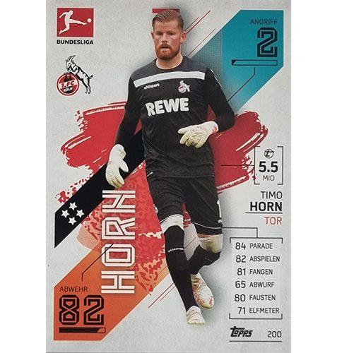 Topps Match Attax Bundesliga 2021/22 Nr 200 Timo Horn