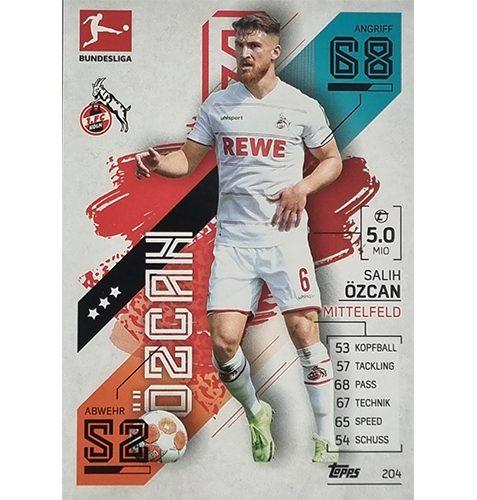 Topps Match Attax Bundesliga 2021/22 Nr 204 Salih Özcan