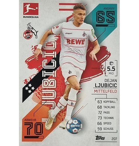 Topps Match Attax Bundesliga 2021/22 Nr 207 Dejan Ljubicic