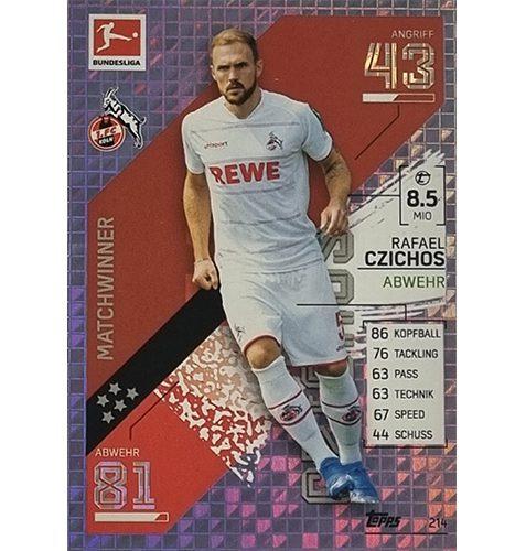 Topps Match Attax Bundesliga 2021/22 Nr 214 Rafael Czichos