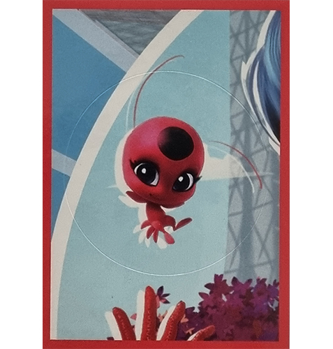 Panini Miraculous Ladybug Heroez in the World Sticker Nr 022