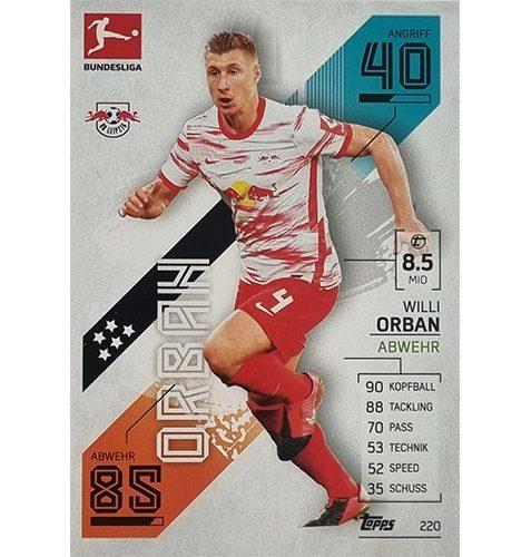 Topps Match Attax Bundesliga 2021/22 Nr 220 Willi Orban