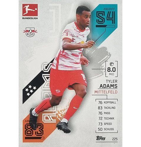 Topps Match Attax Bundesliga 2021/22 Nr 225 Tyler Adams