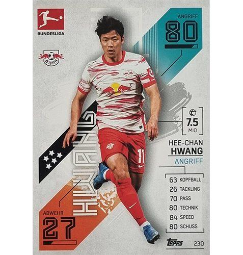 Topps Match Attax Bundesliga 2021/22 Nr 230 Hee Chan Hwang