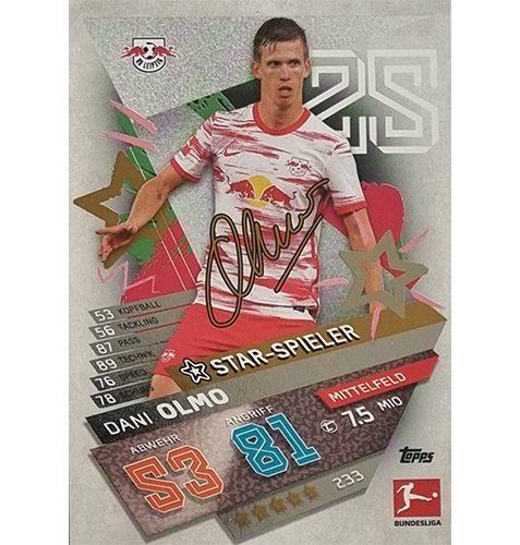 Topps Match Attax Bundesliga 2021/22 Nr 233 Dani Olmo