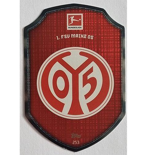 Topps Match Attax Bundesliga 2021/22 Nr 253 FSV Mainz Clubkarte