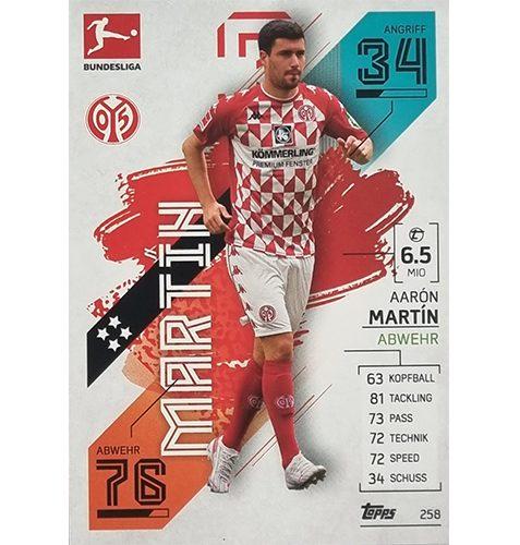 Topps Match Attax Bundesliga 2021/22 Nr 258 Aaron Martin