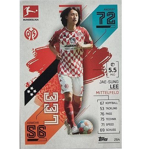 Topps Match Attax Bundesliga 2021/22 Nr 264 Jae Sung Lee
