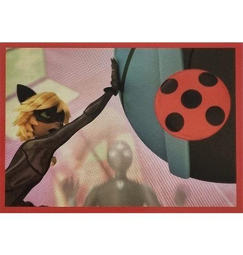 Panini Miraculous Ladybug Heroez in the World Sticker Nr 027